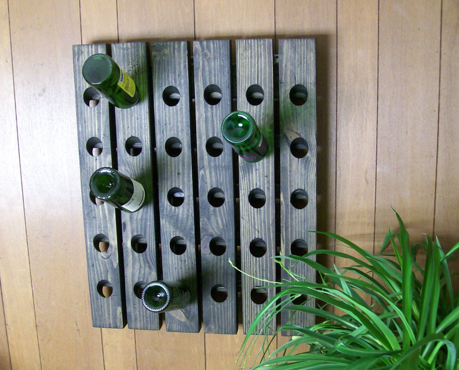 12 Best Simple Wooden Hanging Wine Rack Ideas Tierra: hanging wooden wine rack