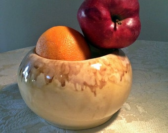 Frank Moreno Drip Glaze Vintage Flower Pot Jardiniere