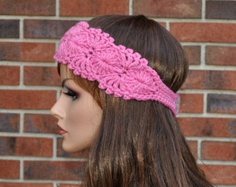 Soft  headband, Very cute, Handmade Accessory,  Womens Crochet Headband.