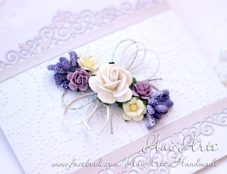Handmade Wedding Invitation Cards: Wedding Congratulation Card Invitation Handmade Anniversary