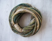 Infinity Scarf - Loop Scarf - Circle Scarf - Winter Scarves - Women Accessories - Fashion Accessories - Gift for Her - Green Shades Scarf