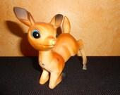 Vintage Deer Reindeer c. 1950s- Kitsch Holiday Deer Reindeer Figurine - Vintage Holiday Home Decor