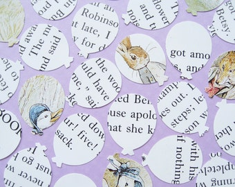 Beatrix Potter Balloon Confetti - Baby Shower, Birthday Party, Christening - Table Decor