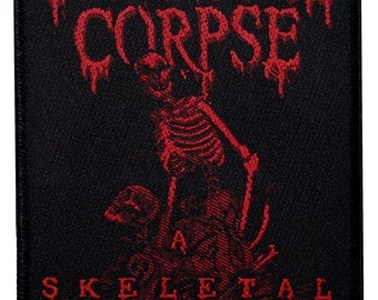 Cannibal Corpse A Skeletal Domain Metal Band Album Art Sew On Applique Patch