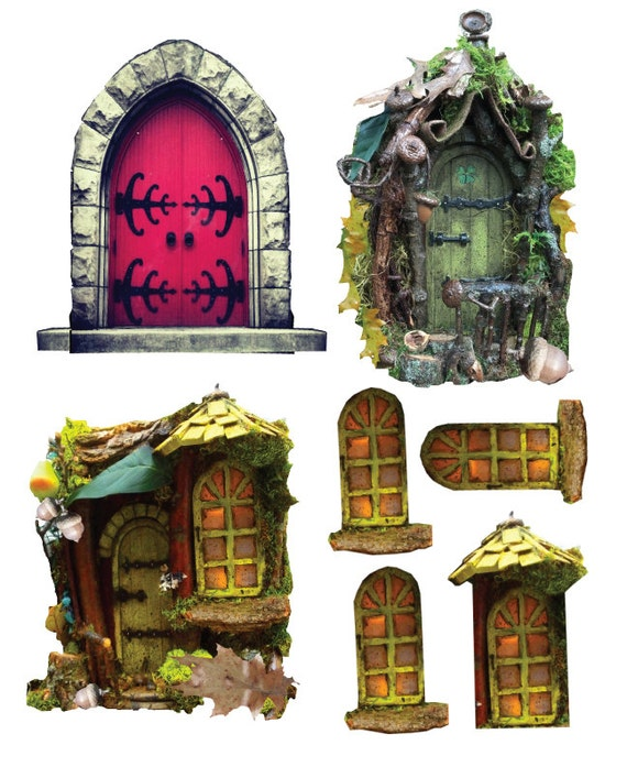 Fairy Door Ideas best 25 fairy door company ideas on pinterest Diy Fairy Door And Free Ideas From Cindibee On Etsy Studio