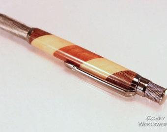 Wood Knurl GT Pen - Gel