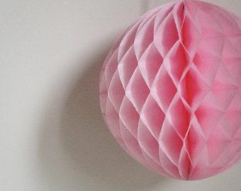 Pretty in pink Pastel honeycomb ball - 8 inch Wedding, girl boy Birthday, Baby Bridal shower new baby gender reveal