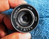 Industar 69 f/2.8 28mm Prime Lens