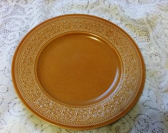 Vintage Laveno Diamondstone Dinner Plate Pat 204.410 - Made in Italy
