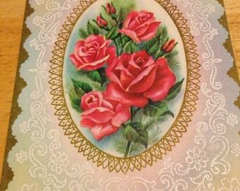 Anniversary Card - Roses