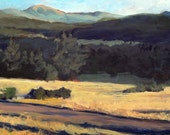 Baldy from Ute Park, I - Philmont - New Mexico - Original Oil Landscape Painting