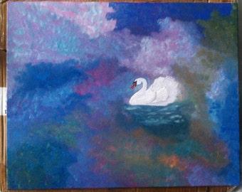 Swan lake 16x20