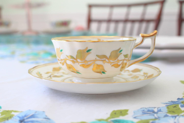 Jahrgang Englisch Knochen China Königlichen Chelsea-Tee-Tasse