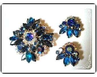 D&E Vintage Demi -  Sapphire Blue Ravishing Juliana   Demi-816a-032709055