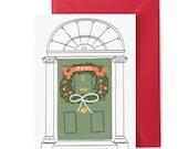 Christmas Card - Dublin Door