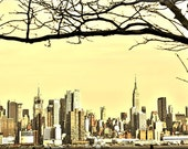 HDR hoboken west new york canvas print art work  30x42 inches