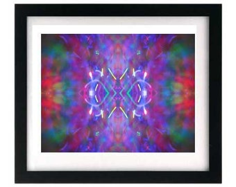 11 x 8.5 Art Print - Purple Signed Numbered Abstract Giclée