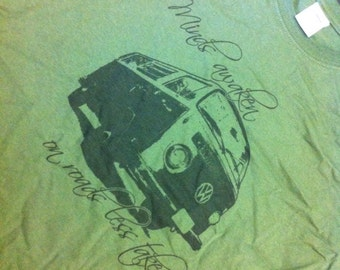 Bay Window VW Bus Minds Awaken Shirt