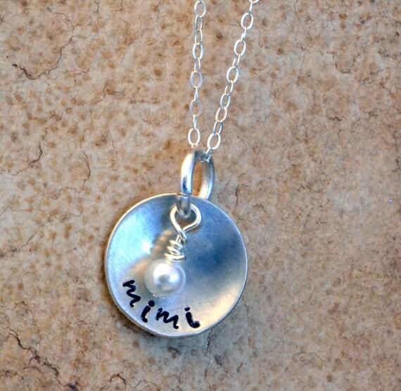 personalized mimi mimi jewelry mimi necklace mimi gift