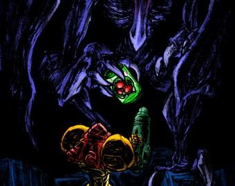 "Super Metroid - 11x17"" Print"