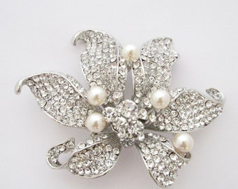 Bridal brooch pin,Wedding jewelry brooch,bridal hair comb,wedding brooch pin,flower brooch rhinestone brooch crystal brooch brooch bouquet