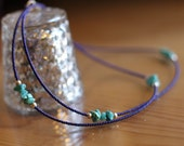 Azul - Blue and Turquoise Single Strand Waisbteads with Sterling Silver Clasp | Belly Chain