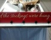 Stocking Holder (36x6 Holds 8 Stocking)