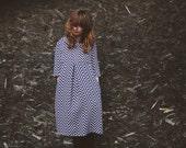 """Chevron Dress - New Look Shape Dress - Peter Pan Collar Dress - Handmade by OffOn """"Zig Zag"""""""