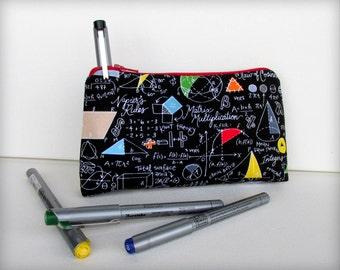 Math Equations - Pencil Case - SO COOL!