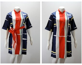 XXL Vintage Dress OQUST Primary Colors