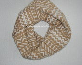 Geometric patterned scarves for women and men in any color