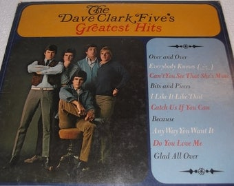 The Dave Clark Five's Greatest Hits album by Epic records., Over and Over, Everybody knows, Glad all over, I like it like that.