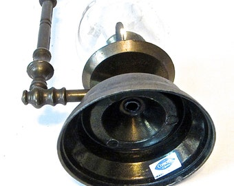 Bronze Candle Holder Comoy's of London Made in Italy