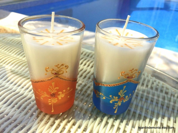 Moroccan Tea Glass Candles