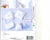 Sewing Pattern  for Wedding Gloves, Ringbearer Pillow,  Gauntlets Garters Purse Bags Pillows -  KS 3404  - Kwik Sew