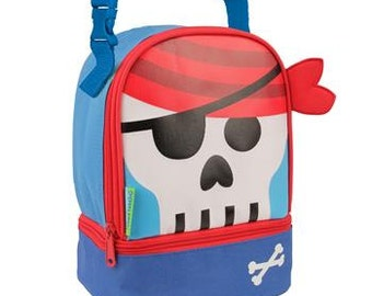 Personalized Stephen Joseph Pirate Lunch Box