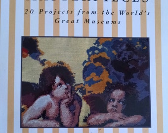 Craft Book, Needlework Masterpieces by Melinda Coss, 20 Projects From the World's Great Museums