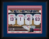 PERSONALIZED & FRAMED MLB Cleveland Indians Sports Print
