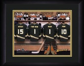 PERSONALIZED & FRAMED NHL Anaheim Ducks Sports Print