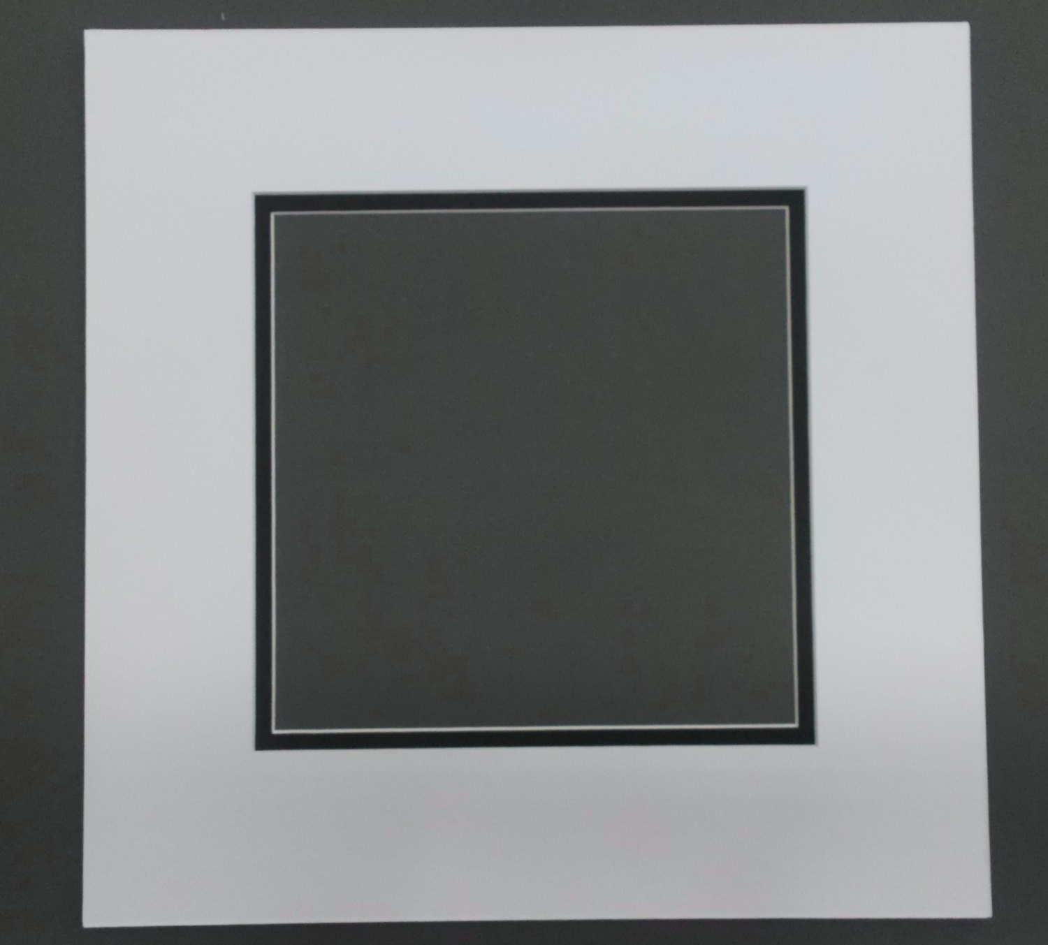 12x12 Square Double Picture Mats For 8x8 Pictures Over 30