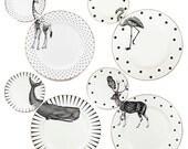 Animal Plate Set