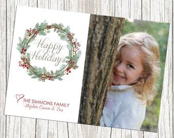 Photo Holiday/Christmas Card