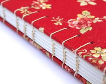 Rose Patterned Sketchbook