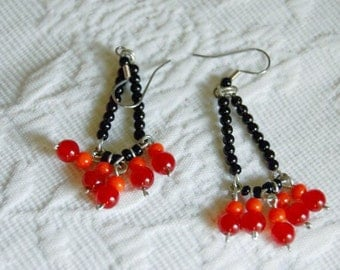 Midnight Berries Earrings