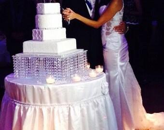 Wedding Cake Stand-Bling