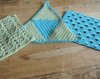 Trio Dish Cloth/Wash Cloth Set