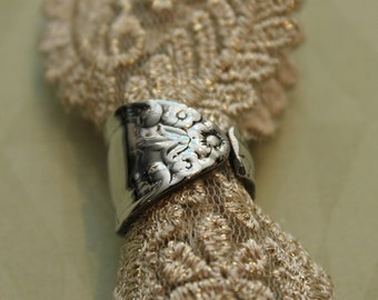 Spoon Ring Band, Size 6