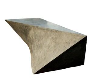 Concrete Geometric Bench