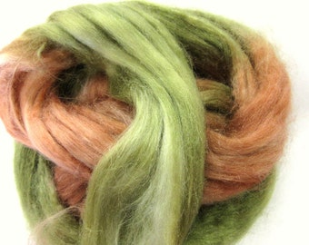 Tussah Silk Roving for Spinning, Felting Silk, Paper Making. Woodland