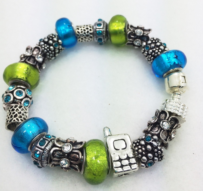 Cell Phone Charm Bracelet